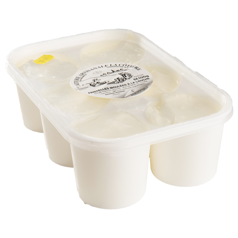 Fromages blancs fermiers  x6 Le Chat-Bo - 1