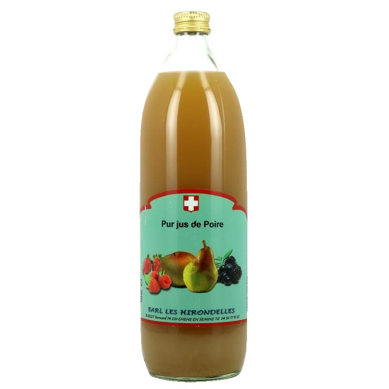 Pur jus de fruits artisanal de Savoie - Poire  - 1