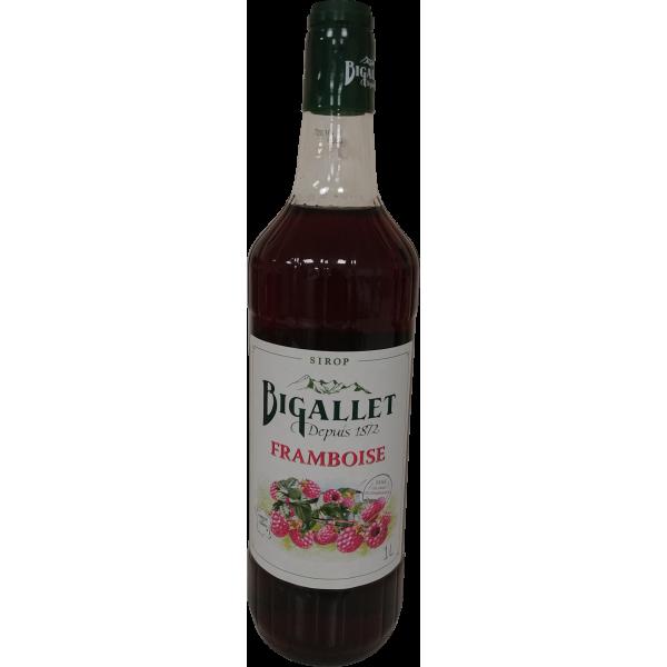 Sirop de framboise Bigallet - 1 L