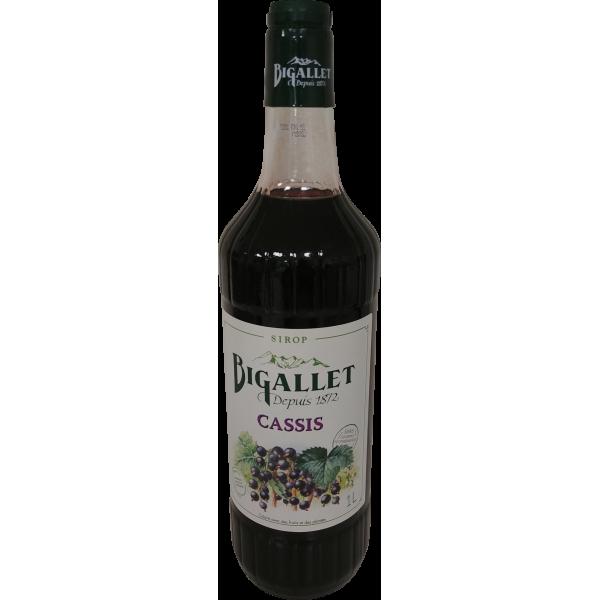 Sirop de cassis Bigallet - 1 L