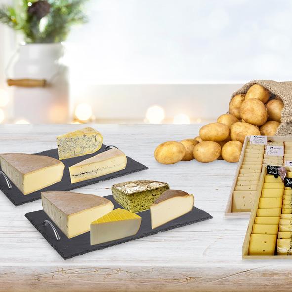 plateaux de raclette